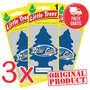 3 Aromatizantes Cheirinho Carro Little Trees New Car