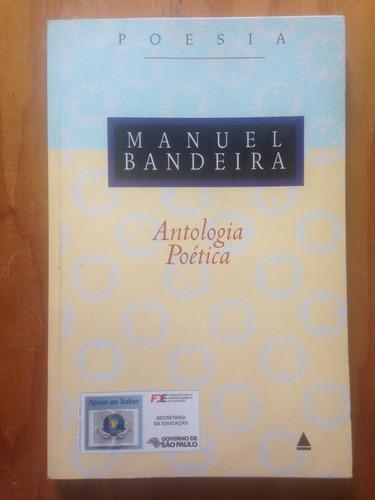 Livro Antologia Poética - Manuel Bandeira Original