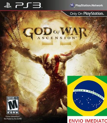 God Of War Ascension Portugues Ps3 - Psn Midia Digital