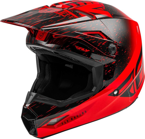 Capacete Infantil Fly Kinetic K120 Motocross Trilha Leve Original