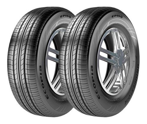 Pneu 195/60r15 88v Bridgestone Ecopia Ep150   Kit 2 Unidades