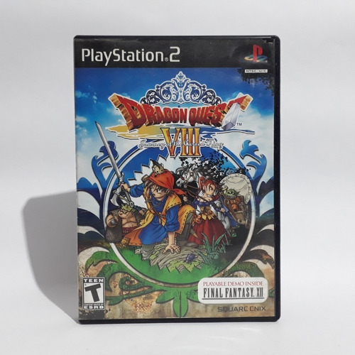 Jogo Dragon Quest 8 Journey Of The Cursed King Ps2 Original