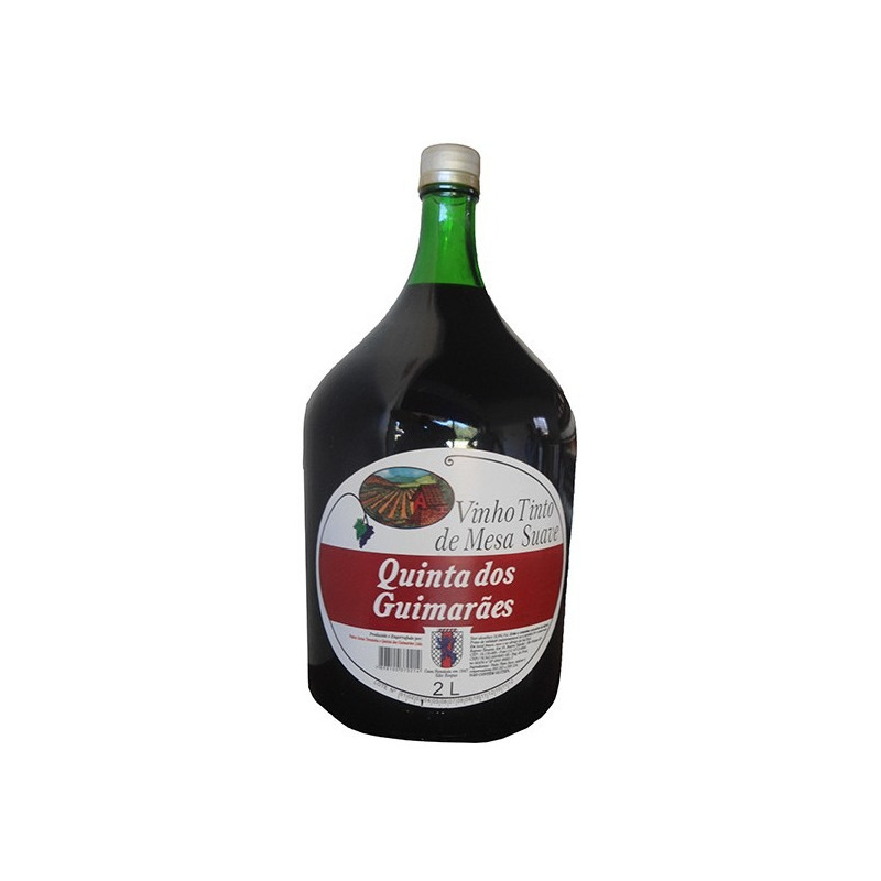 Vinho Tinto Suave Izabel/Bordô 2 L - Quinta dos Guimarães