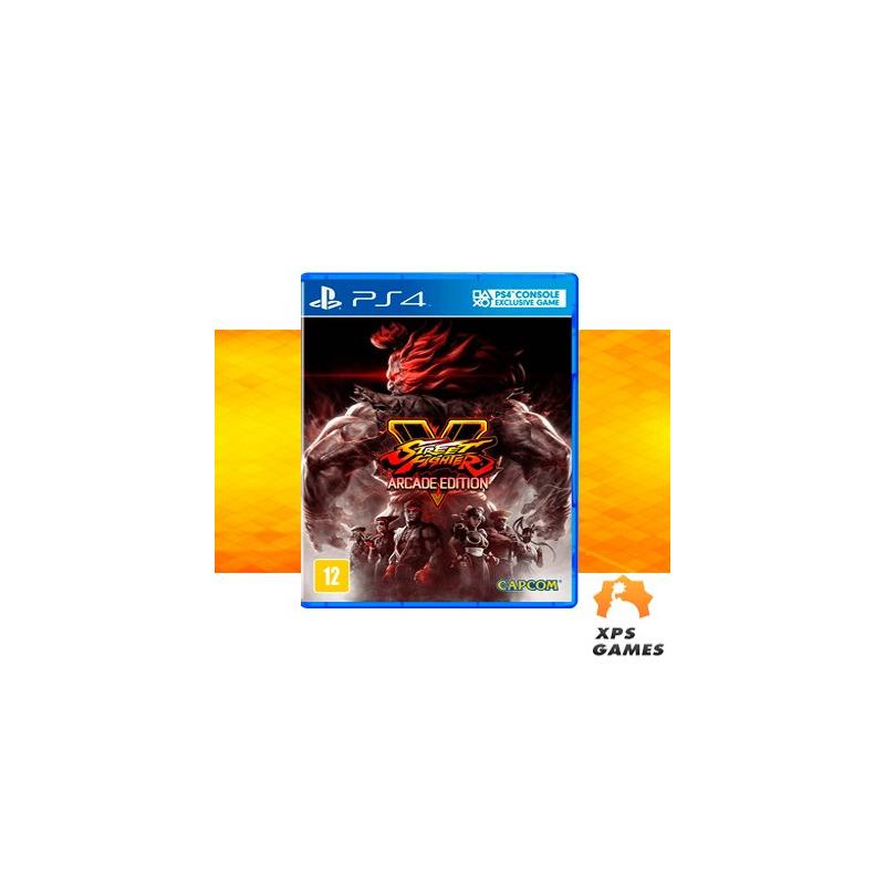 Jogo Street Fighter V (Arcade Edition) - PS4