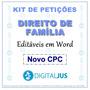 Petições Direito De Família 2018   Novo Cpc