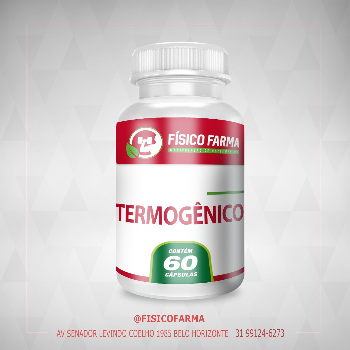 Super Termogênico | 60 cáps (termogenico)