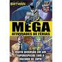 Livro Mega Atividades De Ferias Batman Com Lapis De Cor