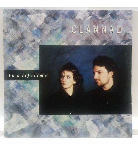 Lp Vinil Clannad-ina Lifetime/ Mix/part Bono Vox U2-ex/ae32 Original