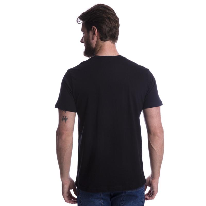 Camiseta Long Island Listras Preta
