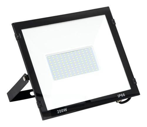 Refletor Holofote Led 200w Smd  Branco Frio Bivolt Ip65 Original