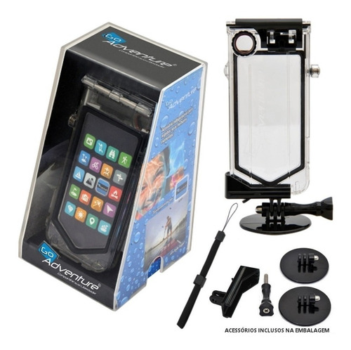 Capa Case A Prova Dágua Go Adventure iPhone 4-4s Completo Original