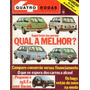 Quatro Rodas Nº262 Maio 1982 Mini Dacon Caravan Belina Fiat