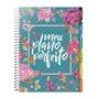 Planner Agenda Meu Plano Perfeito Capa Flores