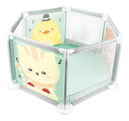 Cercado Chiqueirinho Desmontável Portátil P/ Bebes - Dm Toys Original