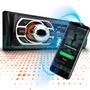Toca Rádio Mp3 Bluetooth Automotivo Fm Usb Sd Aux controle