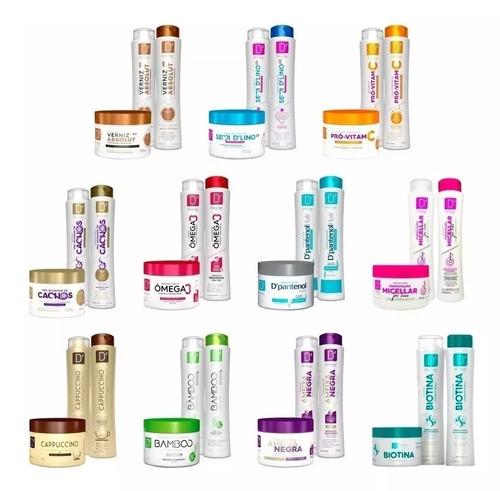 60 Produtos = Mascara + Shampoo + Condicionador Atacado! Original