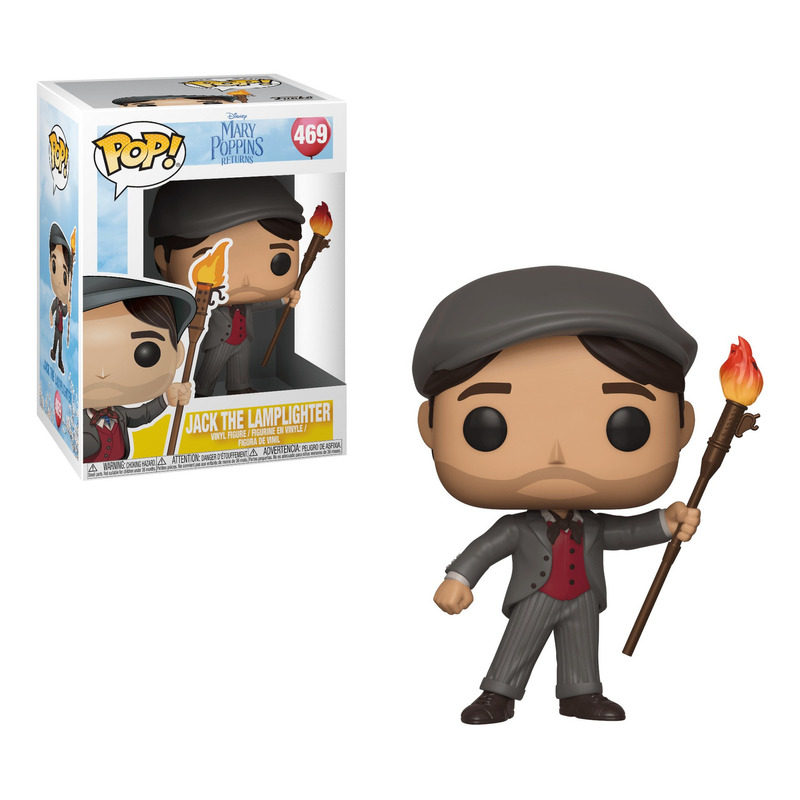 Jack The Lamplighter Pop Funko #469 - Mary Poppins Returns - Disney