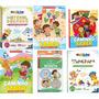 Kit De Alfabetização Infantil Livros jogo Pedagógico brinde