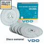 Disco Tacografo Semanal 7 Dias 125km 125km/h Caixa C/ 10 Vdo