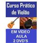 Aulas De Violão Curso Em 2 Dvds Q0y