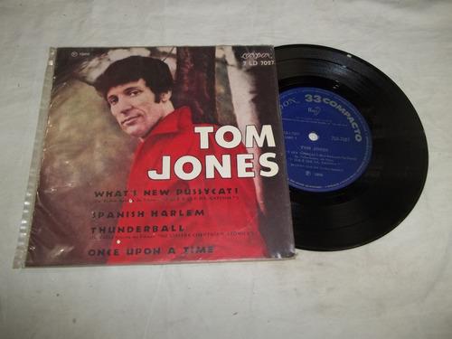 Vinil Compacto Ep - Tom Jones - What's New Pussycat Original