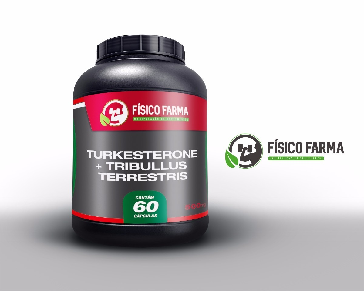Turkesterone 200mg + Tribulus Terrestris 300mg 60 c&aacut...