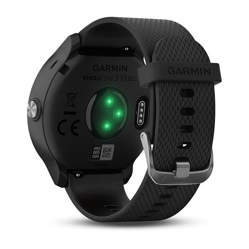 Relógio GPS Monitor Cardíaco Vívoactive 3 Music Smartwatch Garmin Original