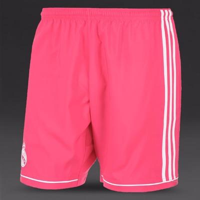 Calção Do Real Madrid Cinza Rosa Jogador Shorts Novo adidas  3c4a7eeb34694