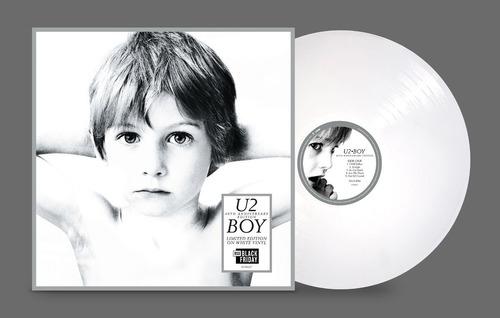 U2 - Boy Lp Limited 40thanniversary Rsd2020 Vinil Branco Original