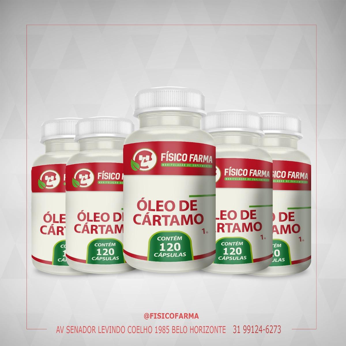 Kit Especial - 5 frascos de Óleo de Cártamo 1g