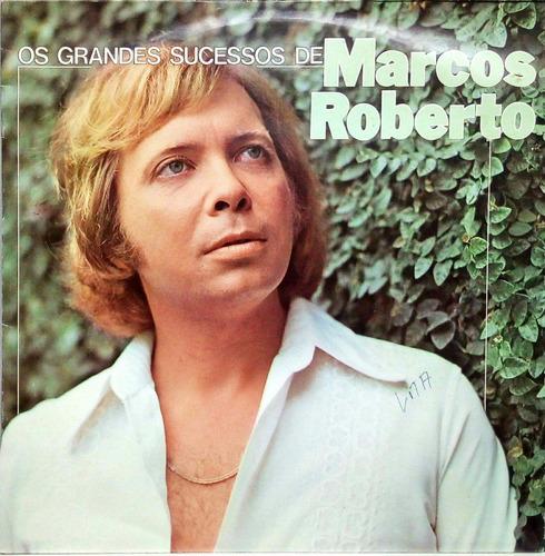 Marcos Roberto Lp 1981 Os Grandes Sucessos 14201 Original