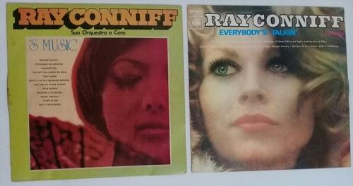 Ray Conniff - 's Music E Everybody's Talkin' - 2 Vinis Original