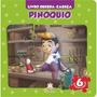Livro Quebra cabeça Pequeno Pinóquio Clássico Infantil