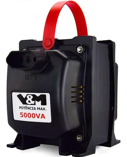 Transformador 5000va V&m 110-220 E 220-110 12000 Btus C/ N F Original