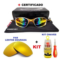 ae7c2ef9a Comprar Oculos Double Xx 24k Arco-iris + Kit Chaves + Par De Lentes