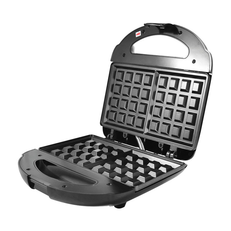 Máquina de Waffles Antiaderente Black+Decker 700W - WF780 110V
