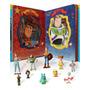 Livro Com 10 Miniaturas Toy Story 4 Amigos Para A Vida