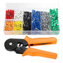 Ferrule Crimping Tool Kit Ponteira Crimper Alicate 800pcs Fi
