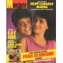 Manchete 1987 Jane Fonda Varig Pelé Claudia Ohana Liz Taylor
