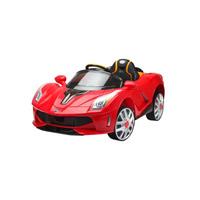 Carro Elétrico esporte luxo vermelho com controle remoto 12V 926700 - Belfix