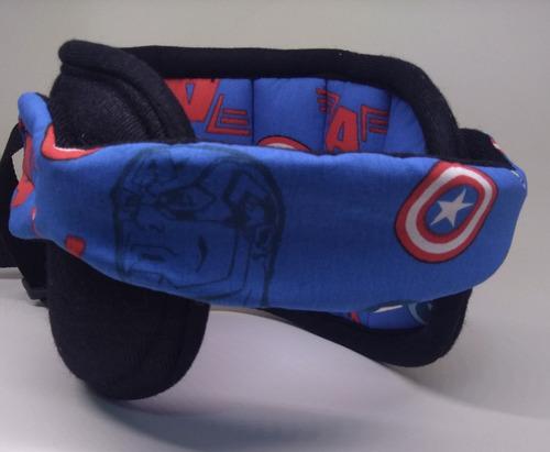 Apoio Suporte Cabeça Proteção Bebê Criança Infantil Carro Original