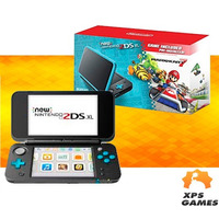 Nintendo New 2ds Xl - Preto e Azul