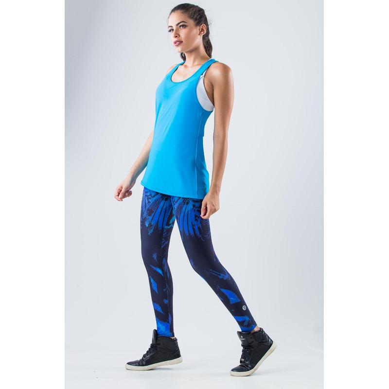Legging Light Plus Exclusivo Penas Roxo