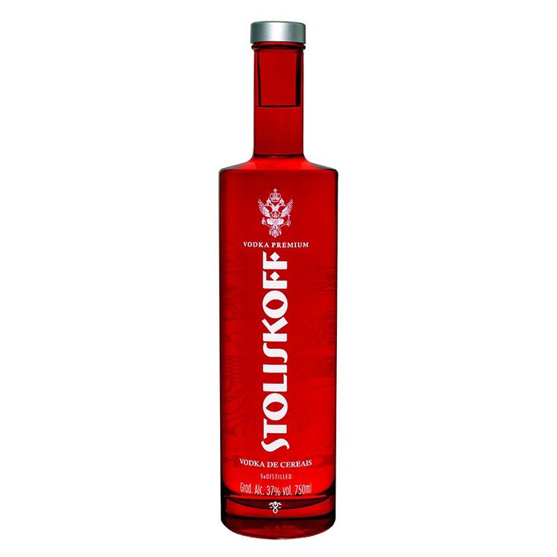 Vodka Premium de Cereais 750ml - Stoliskoff