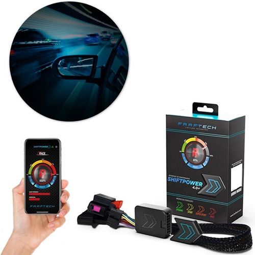 Chip De Potência Shift Power Acelerador Bluetooth Faaftech Original