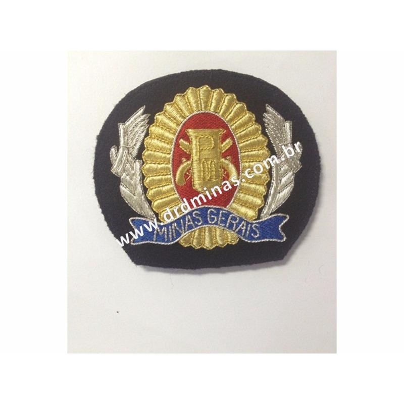 Florão bordado para Quepe Sargento - PMMG