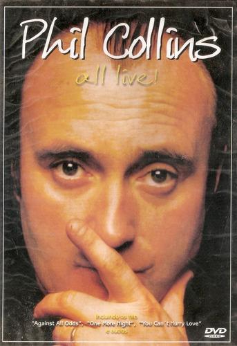 Dvd Phil Collins - All Live! Original
