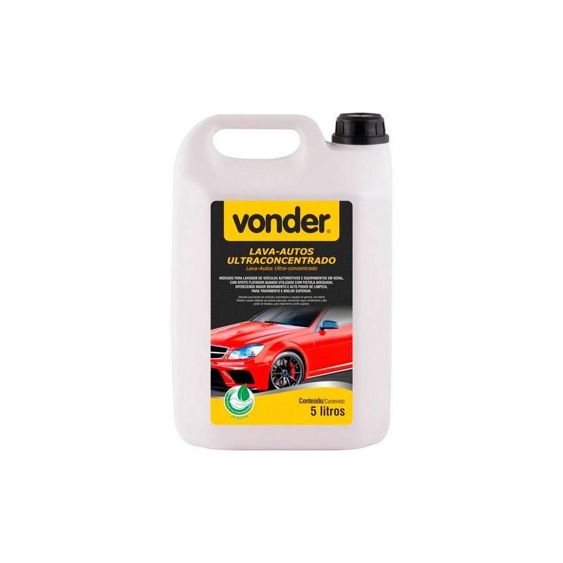 Lava Automóveis Ultraconcentrado 5 Litros Vonder