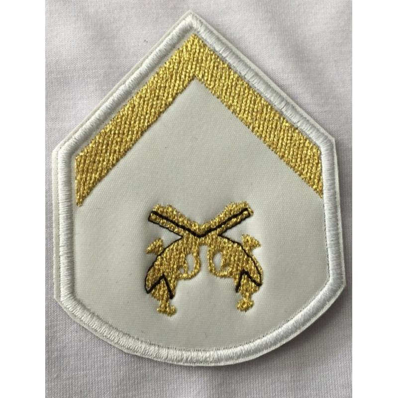 Divisa Soldado bordada casamento - U