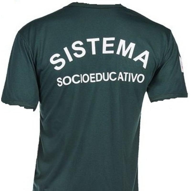 Camisa Socioeducativo Verde Agente  - SESP
